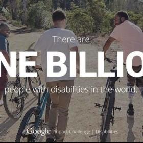 Google presenta programa para ayudar a personas con discapacidad